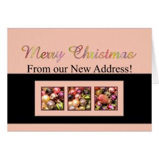 Invitación rosada y coloreada de la dirección de l felicitacion