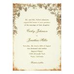 Invitación rústica del boda del viñedo - Brown