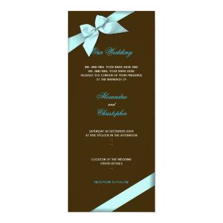 Invitación S1 del boda de la cinta de la