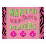 Invitación salvaje de los jugadores de Bunco