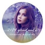 Invitación simple de la fiesta de graduación de la