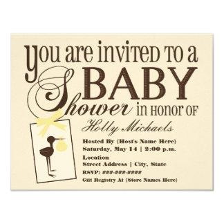 Invitación sofisticada de la fiesta de bienvenida