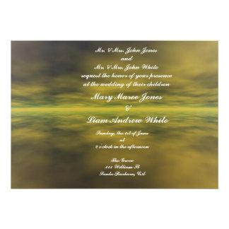 Invitación sofisticada del boda