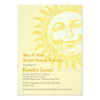 Invitación soleada invitación 12,7 x 17,8 cm