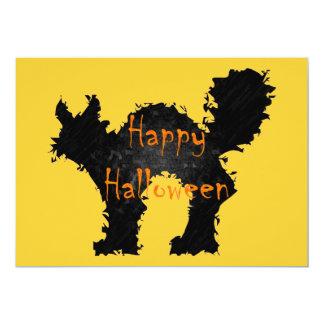 Invitación Spooked de Halloween