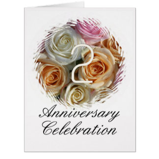 invitación subió 2do aniversario felicitación