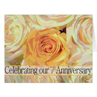 invitación subió 7mo aniversario tarjeton