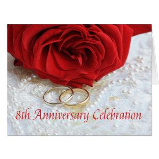 invitación subió 8vo aniversario tarjeton
