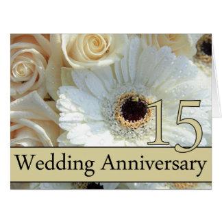 invitación subió décimo quinto aniversario felicitación