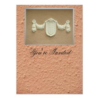 Invitación - tarjeta multiusos invitación 16,5 x 22,2 cm