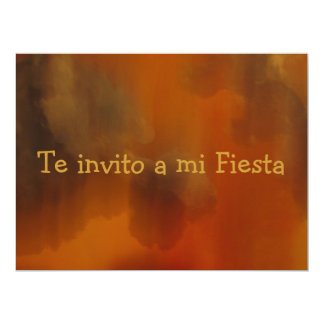 Invitación - Te invito a mi Fiesta Card