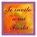 Invitación - Te invito a mi Fiesta Invites