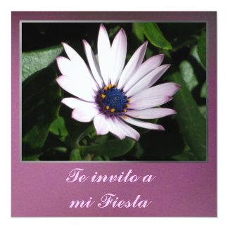 Invitación - Te invito a mi Fiesta - Margarita Card