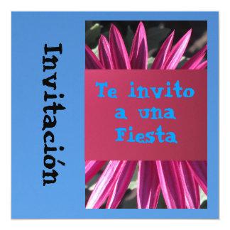 Invitación - Te invito a una Fiesta Card