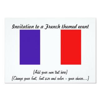 Invitación - tema francés