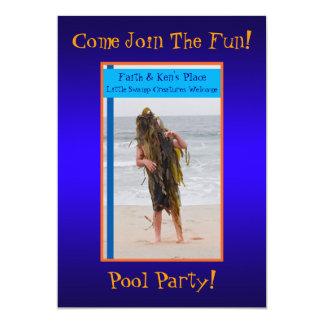 Invitación temática del fiesta de la fiesta en la