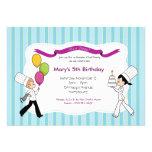 ¡Invitación temática del fiesta del cocinero del n