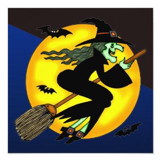 Invitación traviesa del fiesta de Halloween de la