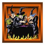 Invitación traviesa del fiesta de Halloween de la Invitación 13,3 Cm X 13,3cm