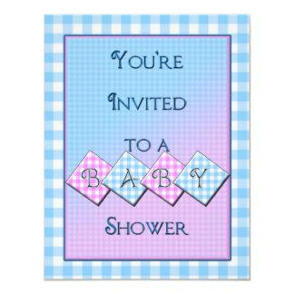 Invitación única de la fiesta de bienvenida al