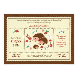 Invitación unisex de la fiesta de bienvenida al invitación 12,7 x 17,8 cm