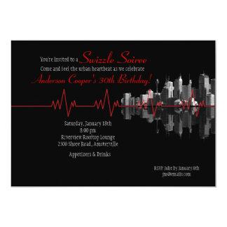 Invitación urbana del latido del corazón