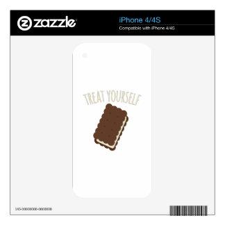 Invitación usted mismo skin para el iPhone 4S