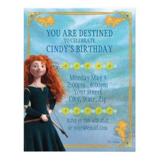 Invitación valiente del cumpleaños