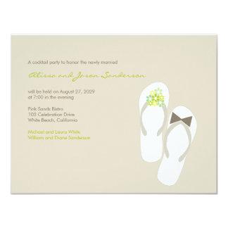 invitación verde del banquete de boda de los