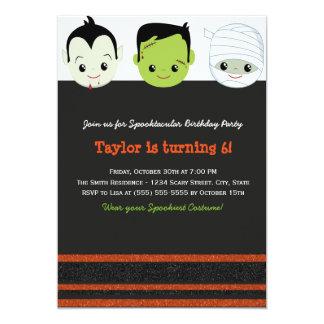 Invitación VI del cumpleaños de Halloween del