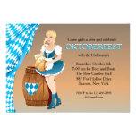 Invitación virginal de Oktoberfest del jardín de l