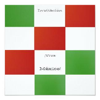 Invitación - ¡Viva México! - Fiesta de Cumpleaños Card
