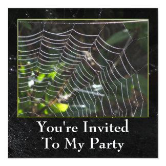 Invitación - Web de araña - multiusos