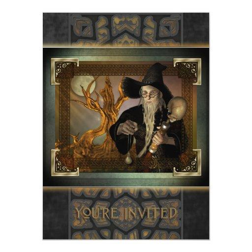 Invitación X-Grande mágica de los magos