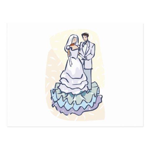 Invitaciones 22 del boda tarjeta postal