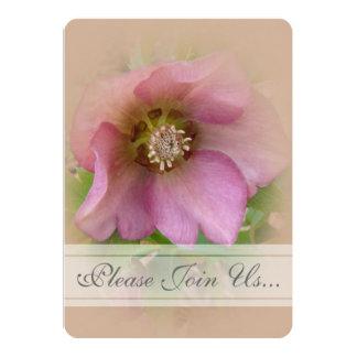 """Invitaciones 3 de Weddding del rosa cuaresmal Invitación 5"""" X 7"""""""
