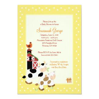 Invitaciones 5x7 de la fiesta de bienvenida al comunicados personales