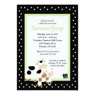 Invitaciones 5x7 de la fiesta de bienvenida al invitacion personal