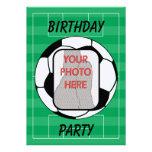 Invitaciones adaptables del fiesta del balón de fú