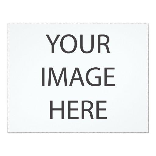 Invitaciones adaptables invitación 10,8 x 13,9 cm