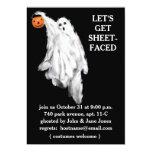 Invitaciones adultas del fiesta de Halloween Comunicado Personalizado