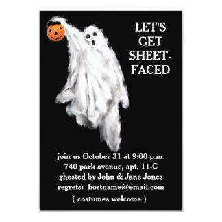 """Invitaciones adultas del fiesta de Halloween Invitación 5"""" X 7"""""""
