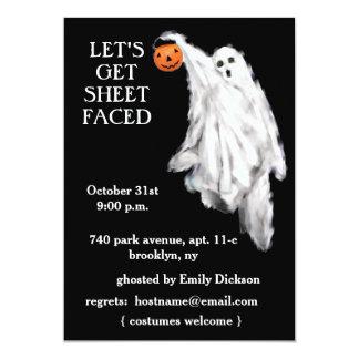 Invitaciones adultas del fiesta de Halloween Invitacion Personalizada