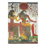 Invitaciones antiguas de Horus del egipcio Anuncio