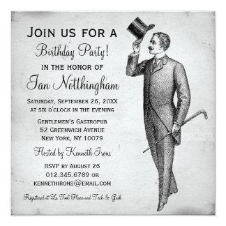 Invitaciones apuestas de la fiesta del cumpleaños anuncio