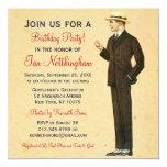 Invitaciones apuestas de la fiesta del cumpleaños invitación 13,3 cm x 13,3cm