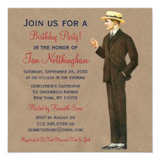 Invitaciones apuestas de la fiesta del cumpleaños comunicado personal