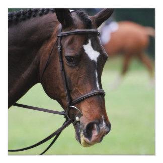 Invitaciones árabes lindas del caballo invitacion personal