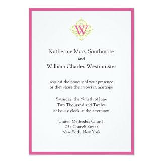 Invitaciones asequibles del boda invitación 12,7 x 17,8 cm