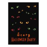 Invitaciones asustadizas del fiesta de Halloween Comunicados